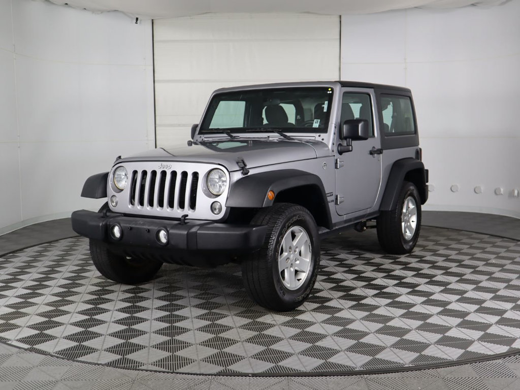 Pre-Owned 2016 Jeep Wrangler 4WD 2dr Freedom
