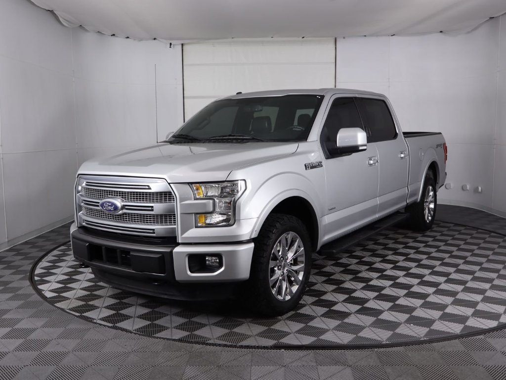 Pre-Owned 2015 Ford F-150 4WD SuperCrew 157