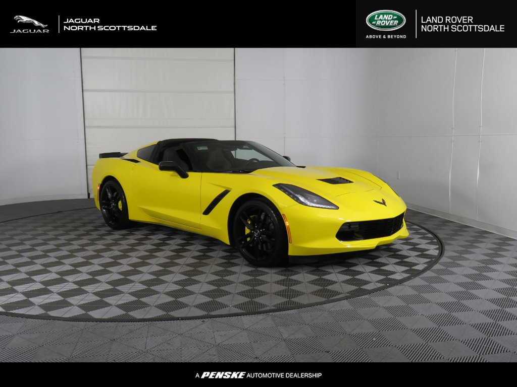 Pre-Owned 2014 Chevrolet Corvette Stingray 2dr Z51 Coupe w/2LT