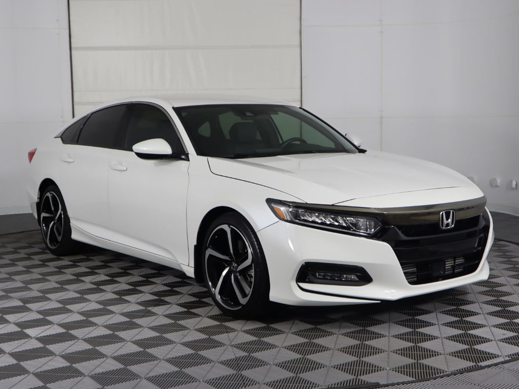 Pre-Owned 2018 Honda Accord Sedan Sport 1.5T CVT