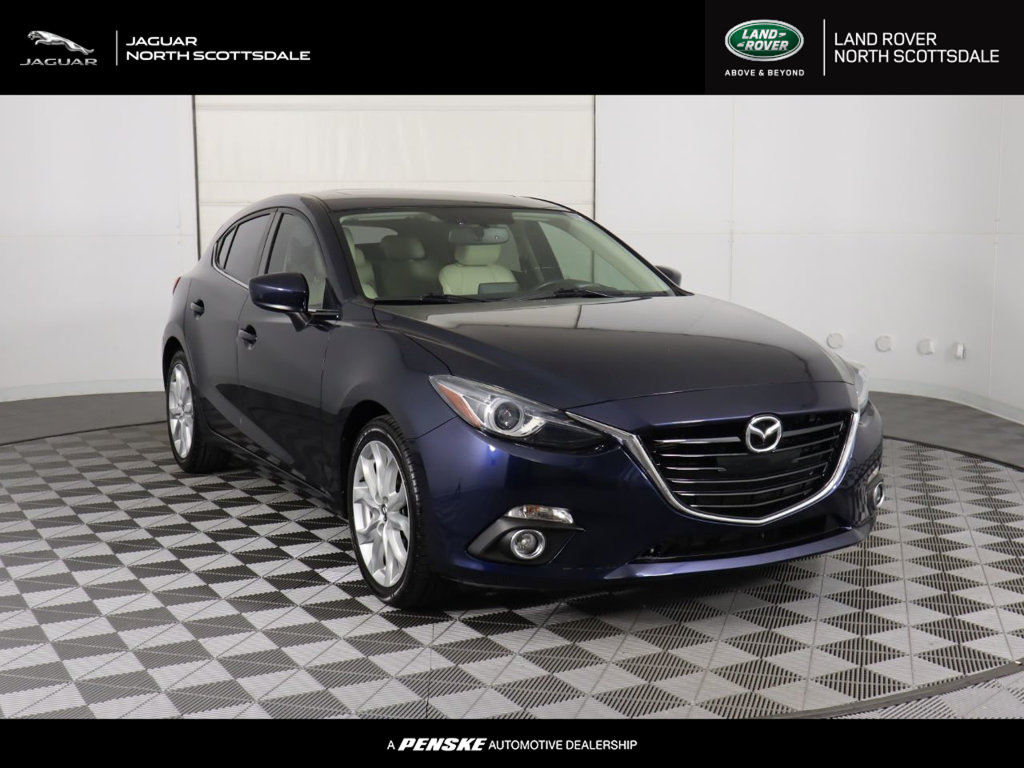 Pre-Owned 2015 Mazda3 5dr Hatchback Automatic s Grand Touring