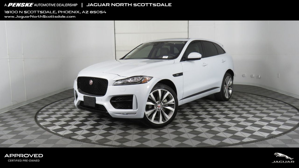 Certified Pre-Owned 2018 Jaguar F-PACE 35t R-Sport AWD