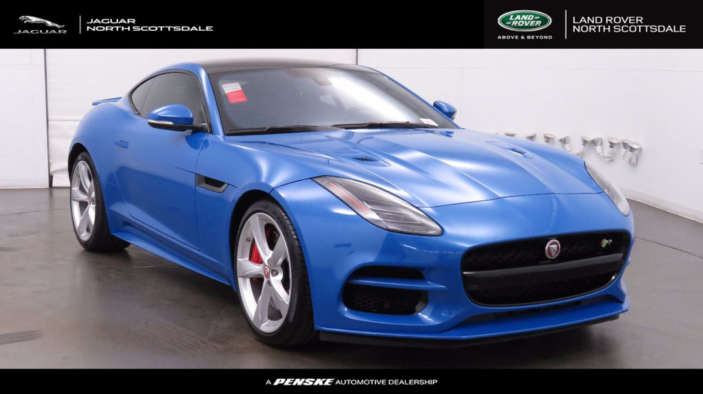 New 2018 Jaguar F TYPE Coupe Automatic R AWD