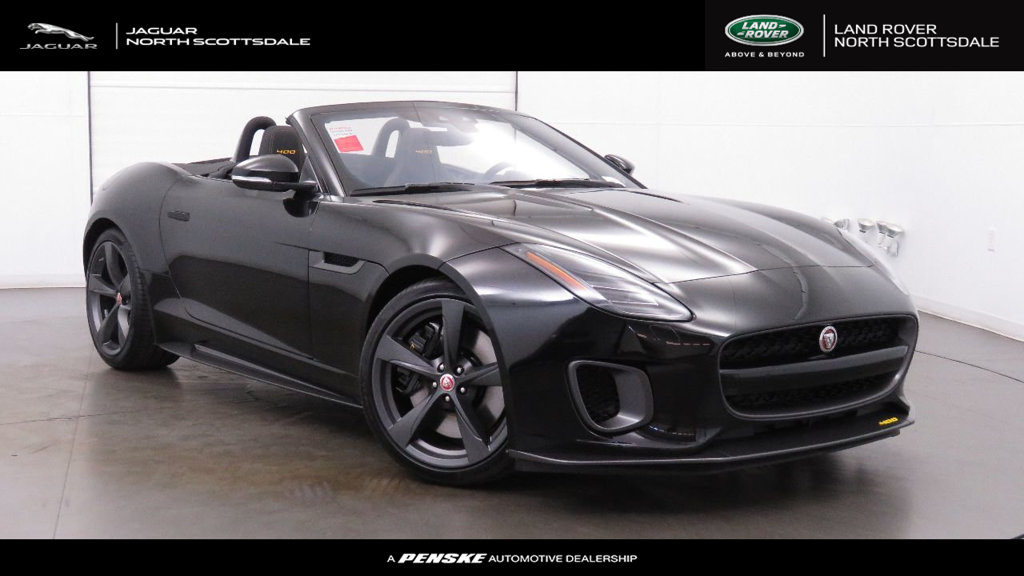 New 2018 Jaguar F TYPE Convertible Automatic 400 Sport