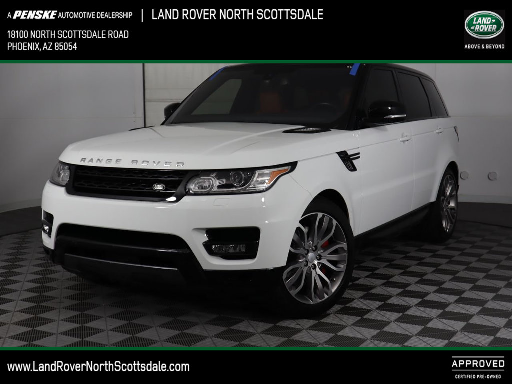 Land Rover Scottsdale >> Certified Pre Owned 2016 Land Rover Range Rover Sport 4wd 4dr V8 Four Wheel Drive Suv