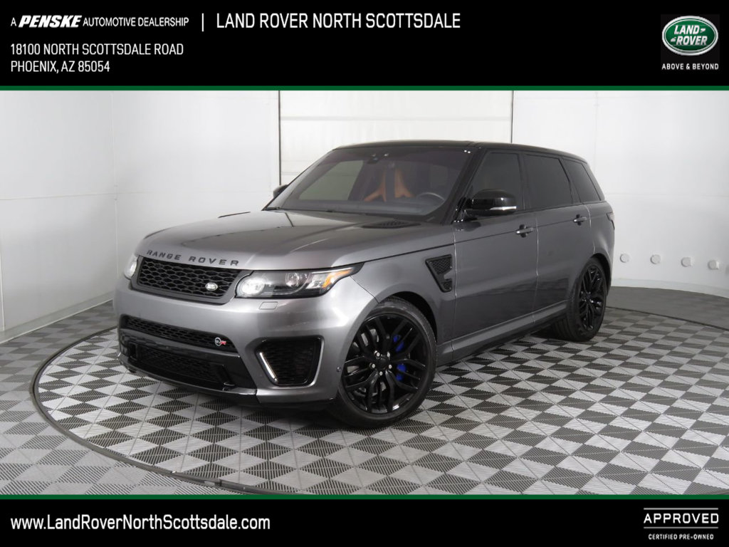 Certified Pre-Owned 2017 Land Rover Range Rover Sport V8 Supercharged SVR