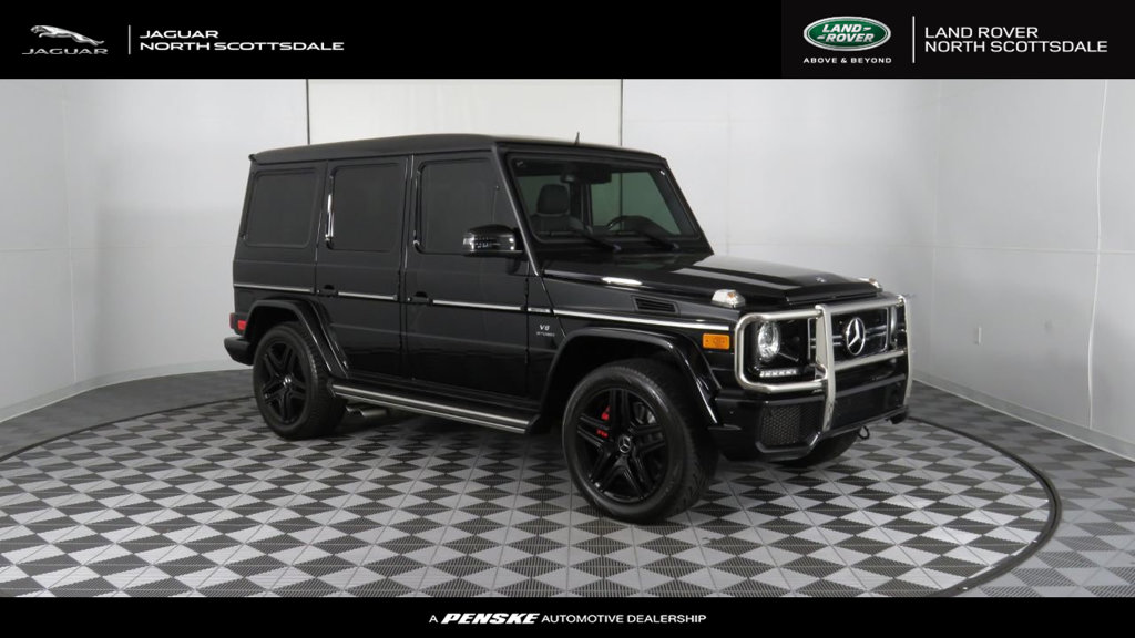 Pre Owned 2014 Mercedes Benz G Class 4MATIC 4dr G 63 AMG®