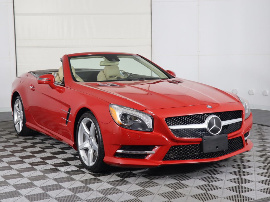 Pre-Owned 2015 Mercedes-Benz SL-Class 2dr Roadster SL 400