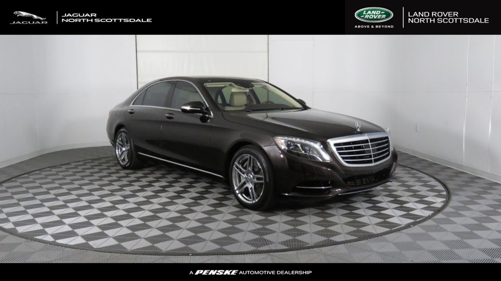 Pre-Owned 2014 Mercedes-Benz S-Class 4dr Sedan S 550 RWD