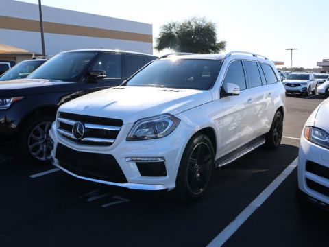 Pre-Owned 2015 Mercedes-Benz GL-Class 4MATIC 4dr GL 63 AMG®
