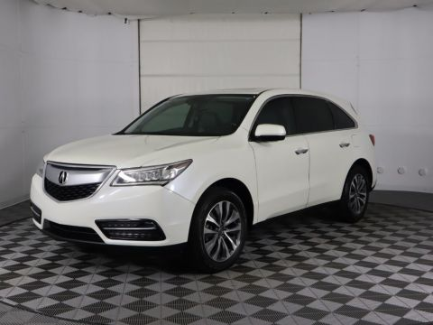 Pre-Owned 2014 Acura MDX FWD 4dr Tech Pkg