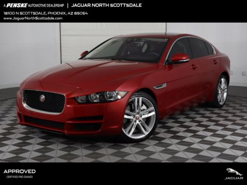 Certified Pre-Owned 2018 Jaguar XE 30t Premium RWD