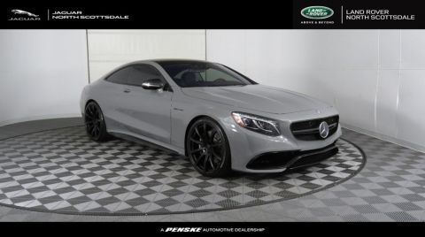 Pre-Owned 2016 Mercedes-Benz S-Class 2dr Coupe AMG® S 63 4MATIC